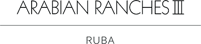 ruba townhouses arabian ranches 3 logo